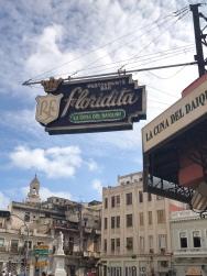 Floridita Restaurant,favourite of Ernest Hemingway