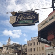 Floridita Restaurant,favourite of Ernest Hemingway