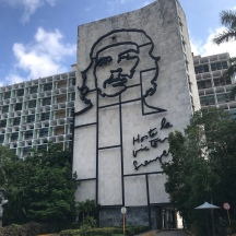 Ministry of Interior building in Plaza de la Revolución (Revolution Square)