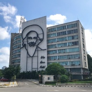 Ministry building in Plaza de la Revolución (Revolution Square)