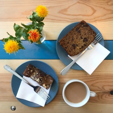 Salted Caramel Brownie & Banana Loaf