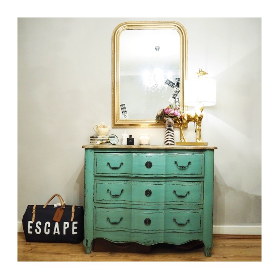 Coachhouse Turquoise Chest of drawers