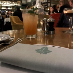The Ivy, St Helens Square York - Rhubarb Collins