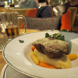The Ivy, St Helens Square York - Mustard Crusted Lamb Shoulder