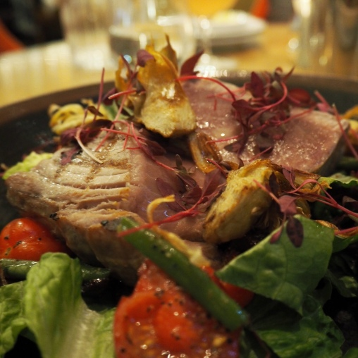 The Ivy, St Helens Square York - Grilled tuna loin
