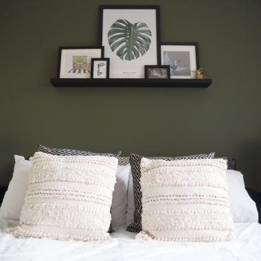 Jacks Life in a teacup valspar green bedroom makeover by Jack D March