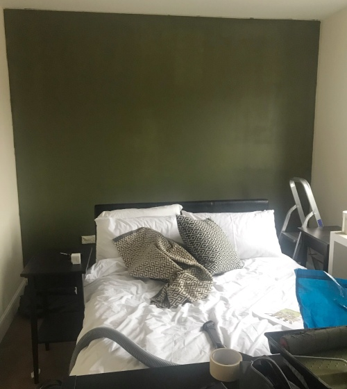 Jacks Life in a teacup valspar green bedroom makeover by Jack D March
