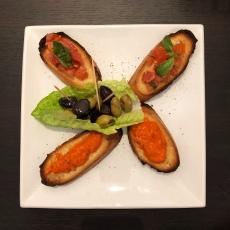 il paradiso del cibo leeds, Bruschetta
