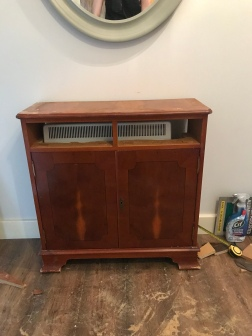 Storage heater cover